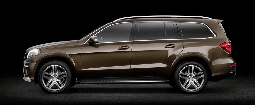 2013 Mercedes-Benz GL-Class brown