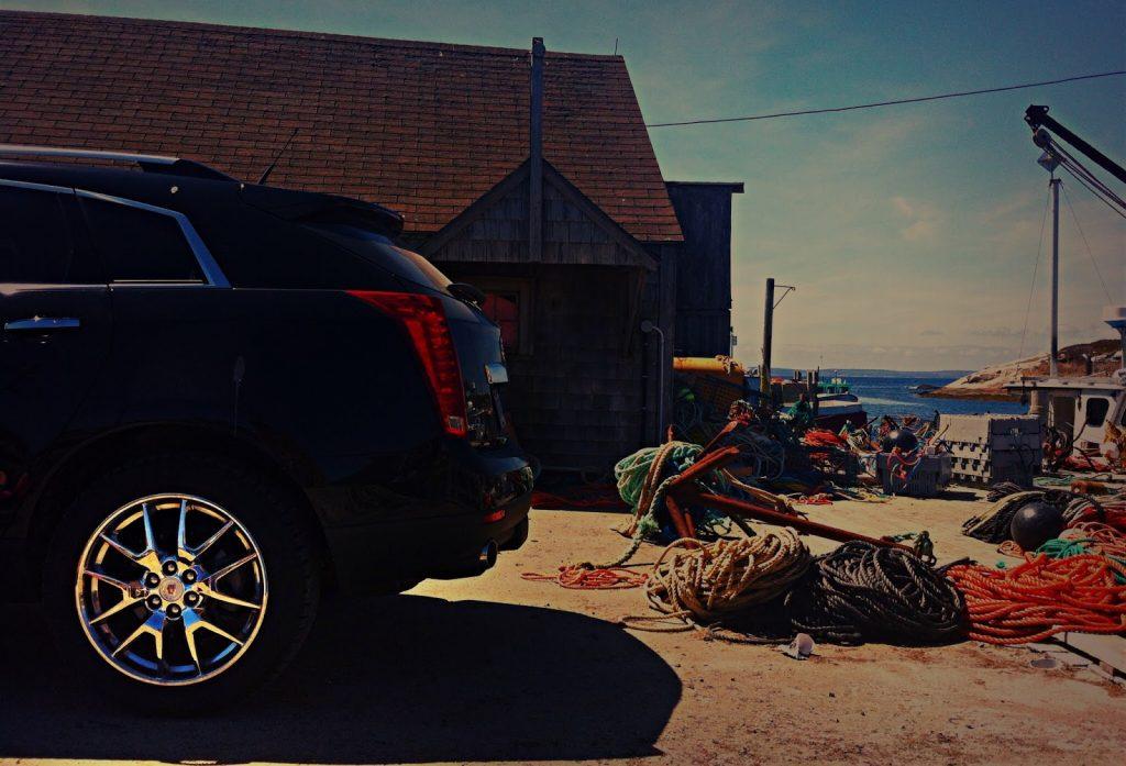 2014 Cadillac SRX 20-inch wheel