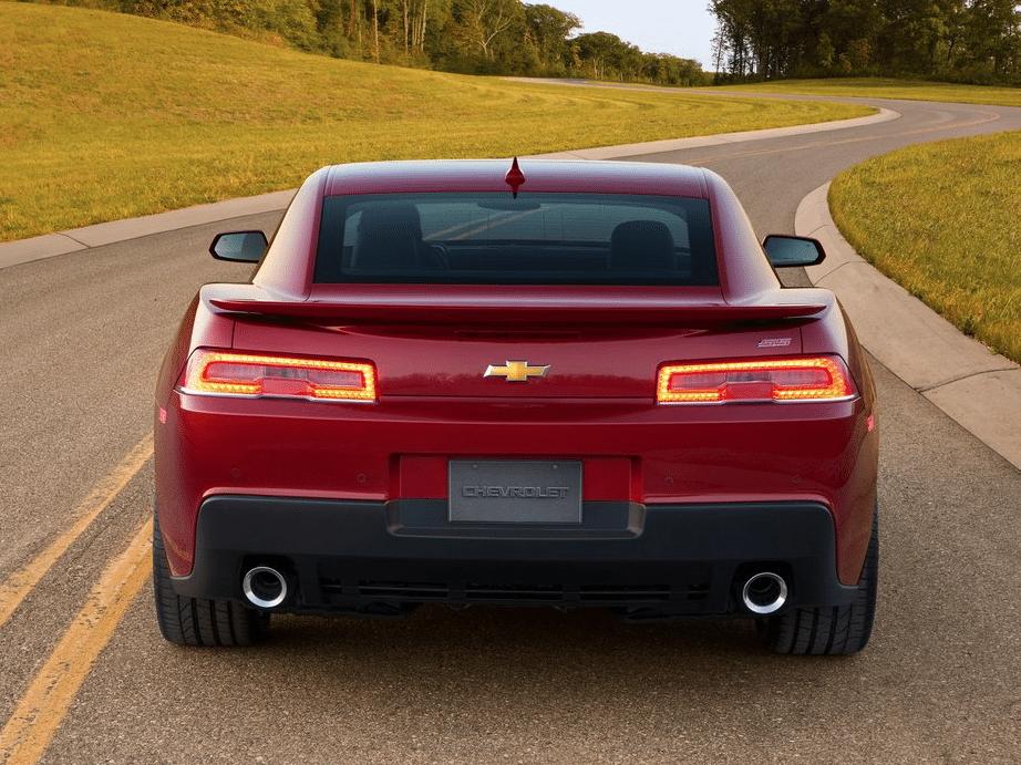 2014 Chevrolet Camaro SS red