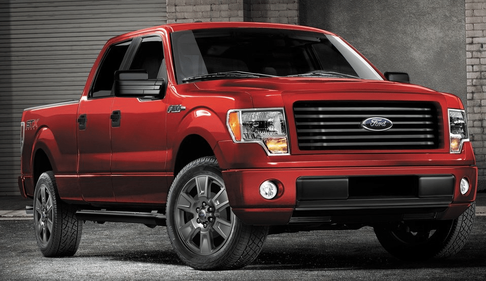 2014 Ford F150 STX red