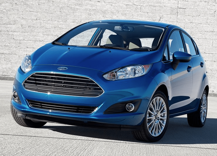 2014 Ford Fiesta blue