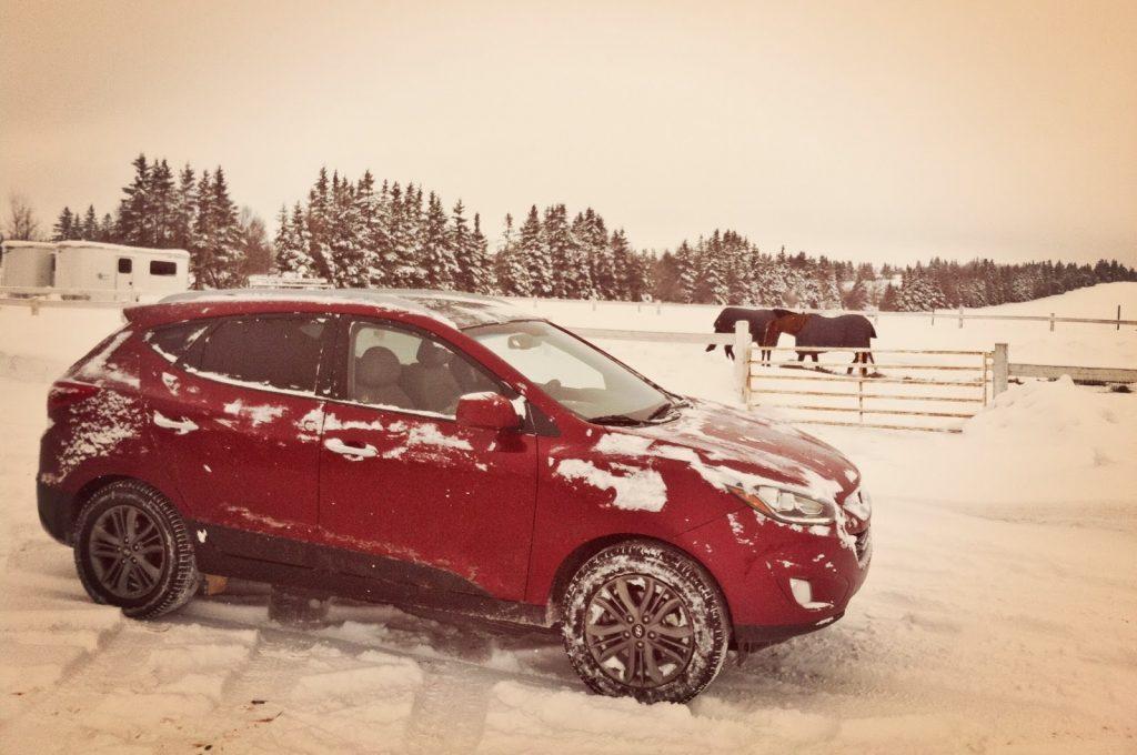 2014 Hyundai Tucson GLS AWD red
