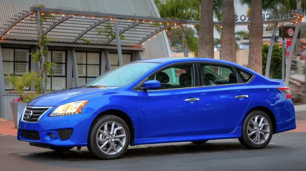 2014 Nissan Sentra blue