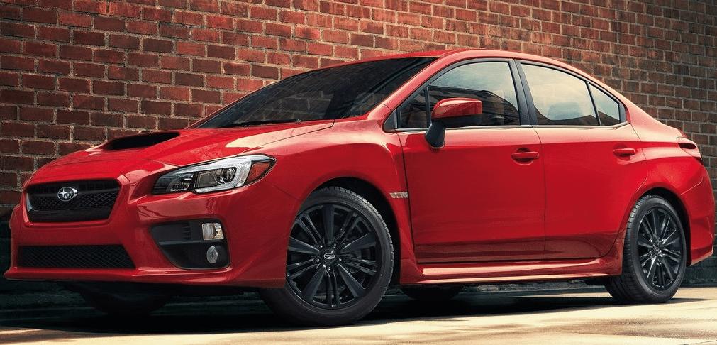 2014 Subaru Impreza WRX red