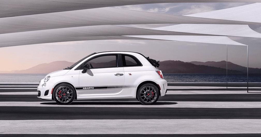 2013 Fiat 500 Abarth white
