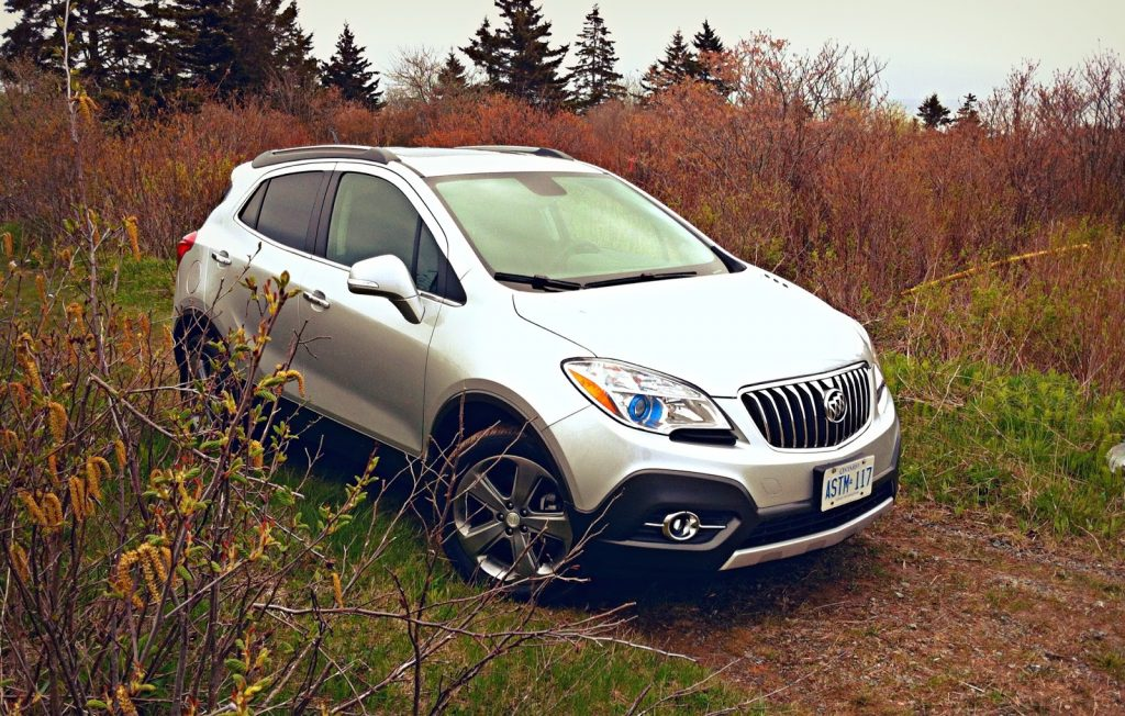 2014 Buick Encore AWD front angle