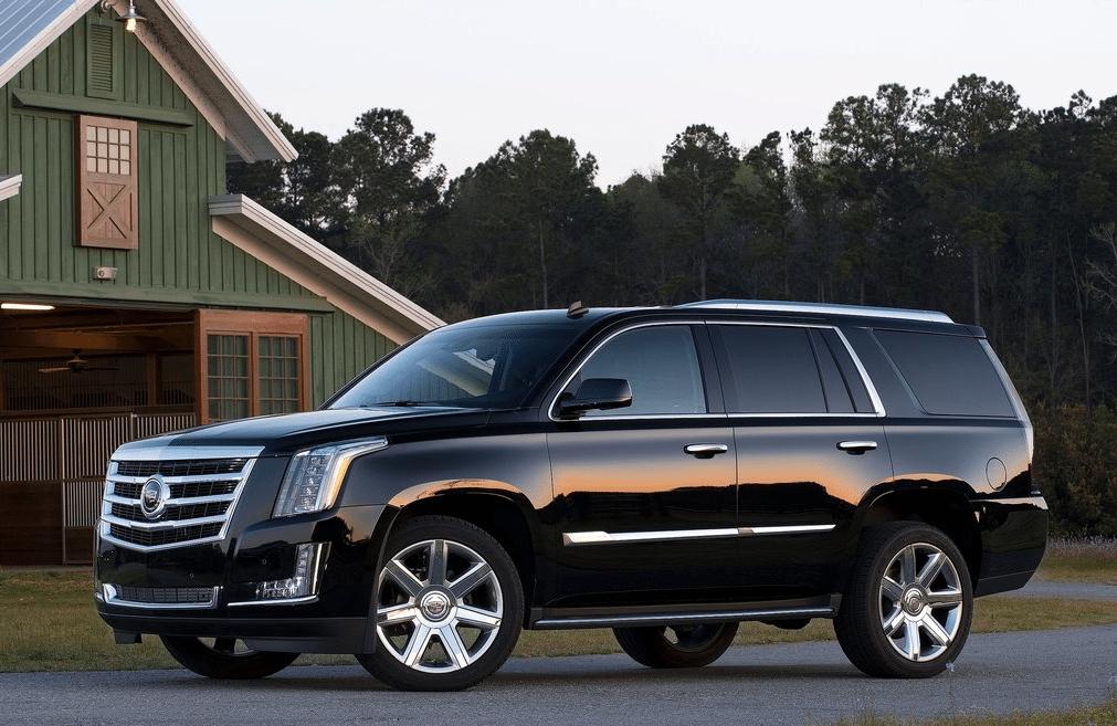 2014 Cadillac Escalade black