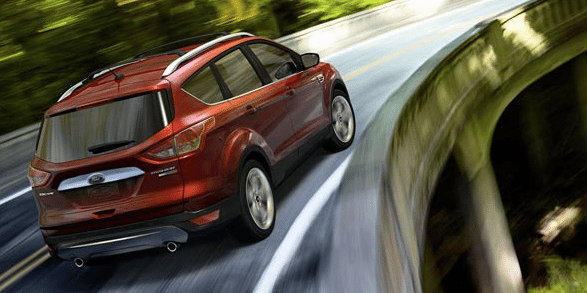 2014 Ford Escape red