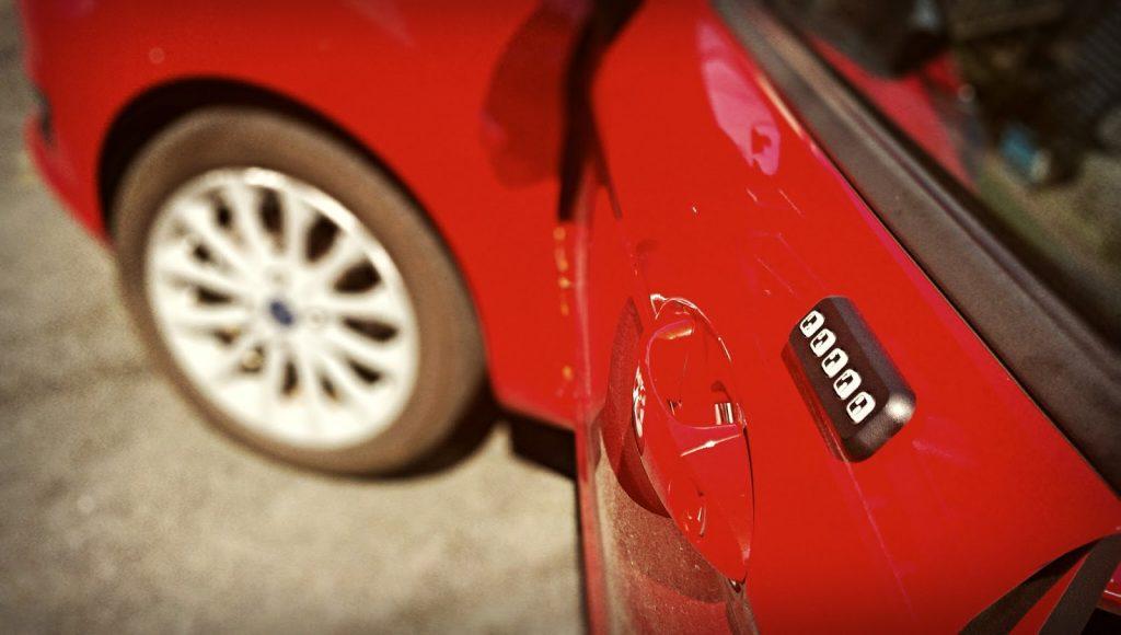 2014 Ford Fiesta SE keyless entry pad