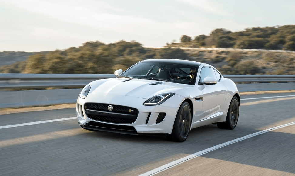 2014 Jaguar F-Type Coupe S white