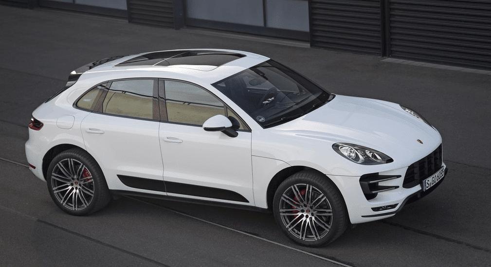 2015 Porsche Macan white