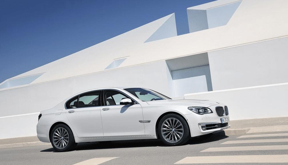 2012 BMW 7-Series white