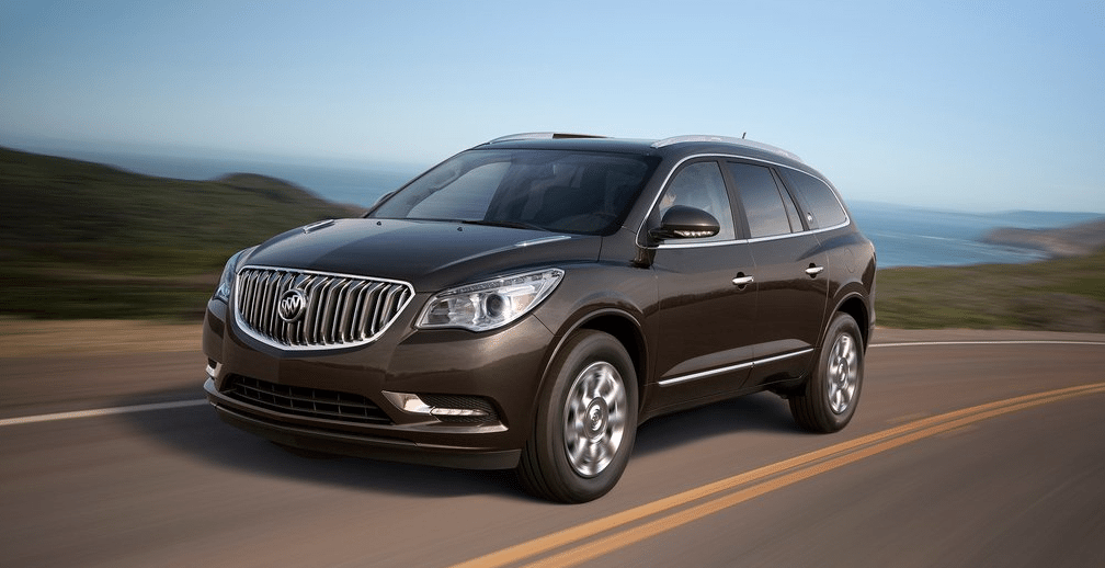 2014 Buick Enclave brown