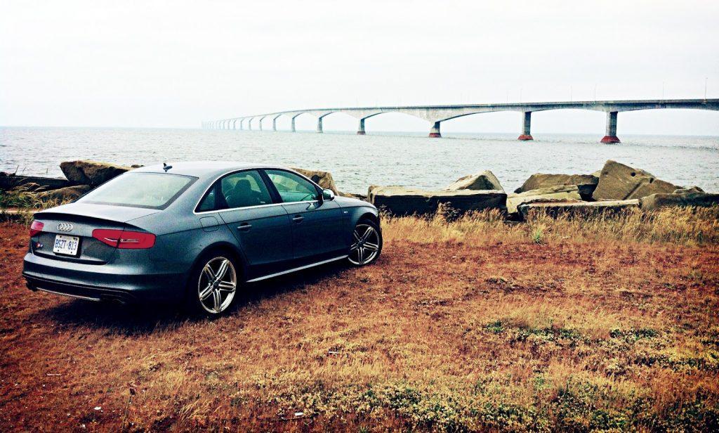 2014 Audi S4 Confederation Bridge