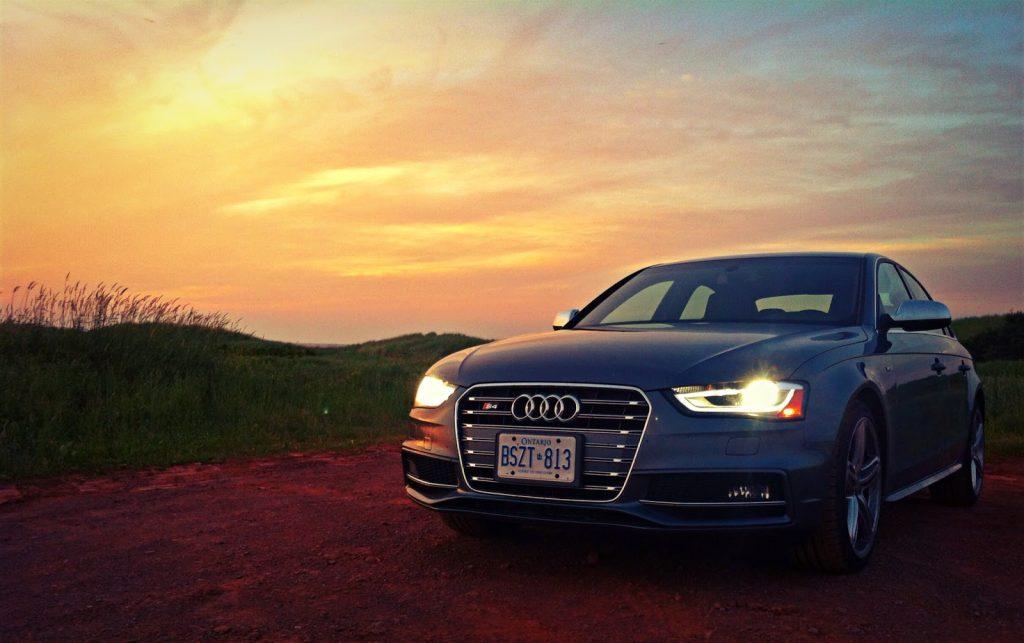 2014 Audi S4 Technik sunset PEI