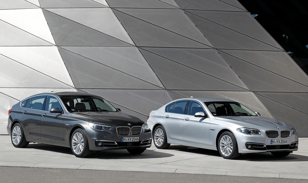 2014 BMW 5-Series sedan and GT