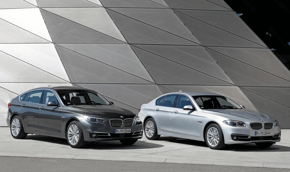 2014 BMW 5-Series sedan and GT