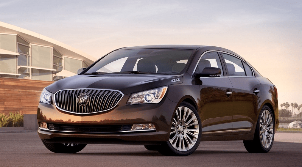 2014 Buick LaCrosse brown