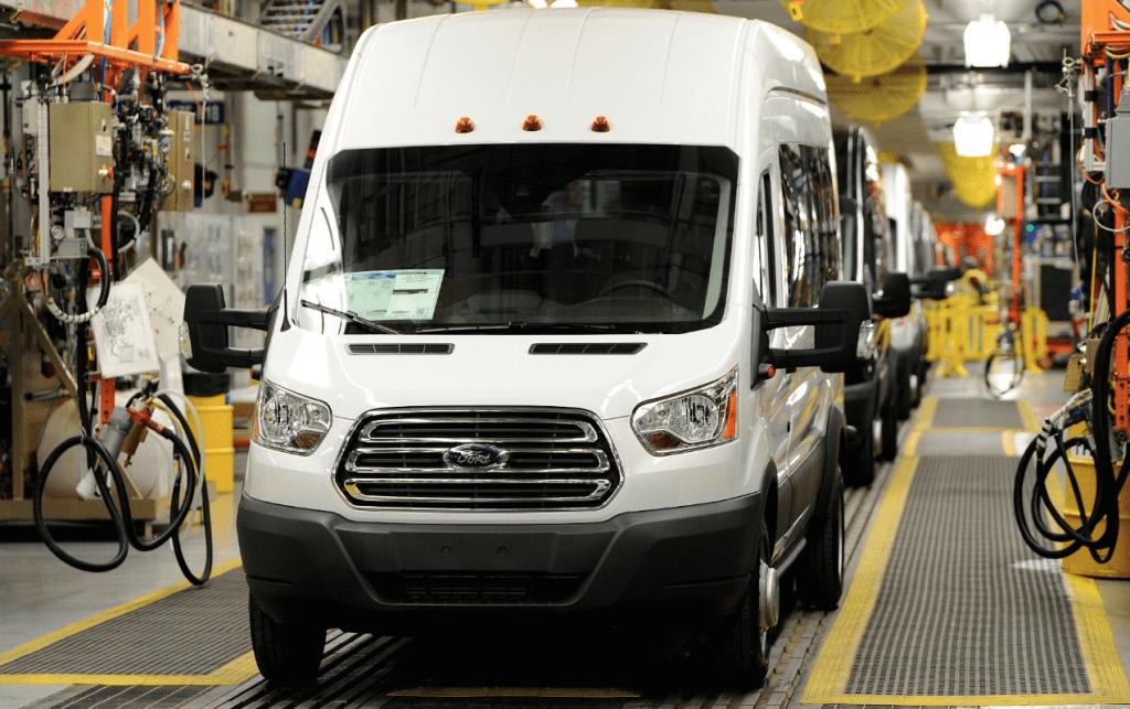 2014 Ford Transit Kansas City factory