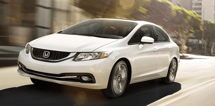 2014 Honda Civic sedan white