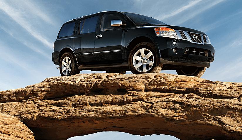 2014 Nissan Armada SL black