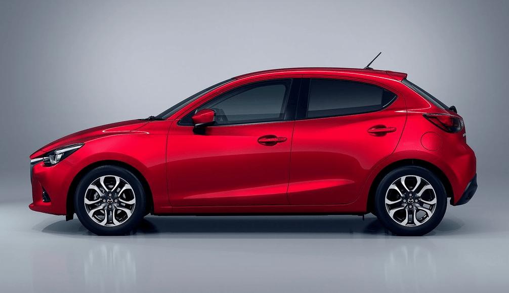 2015 Mazda 2 red