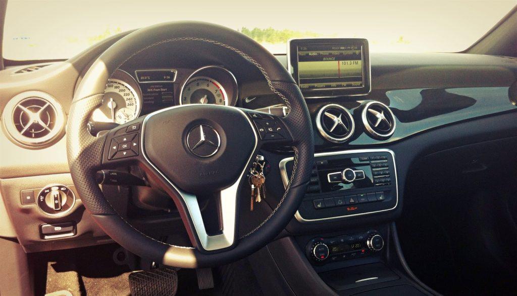 2014 Mercedes-Benz CLA250 interior