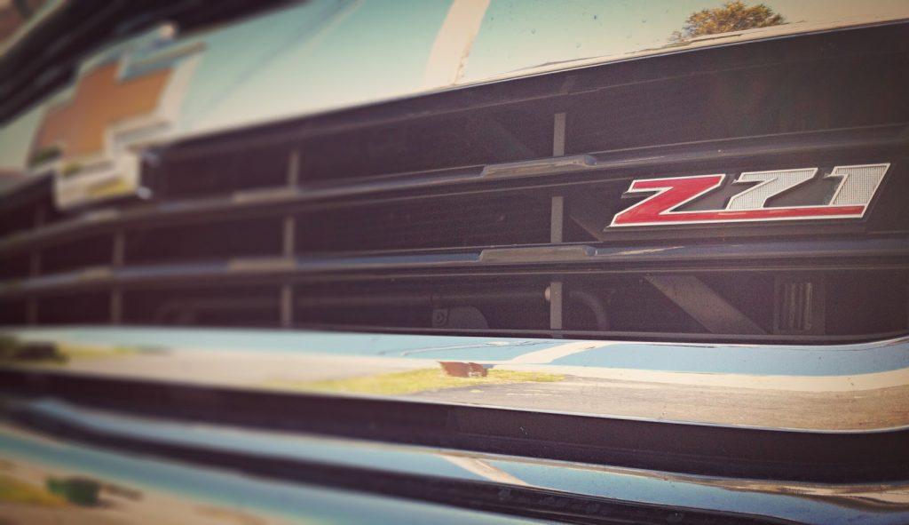 2014 Chevrolet Silverado HD grille