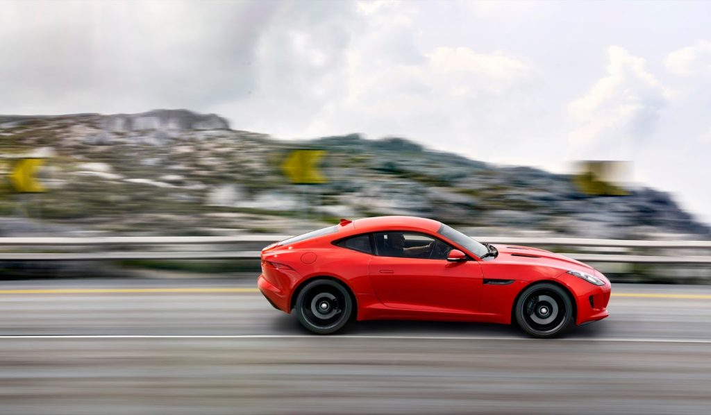 2014 Jaguar F-Type coupe salsa red