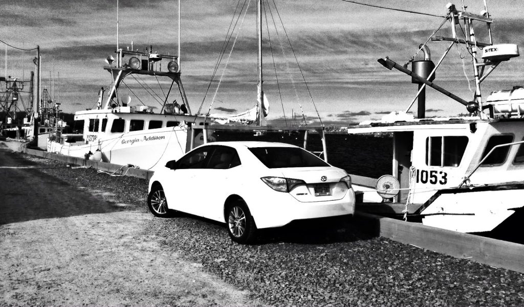 2014 Toyota Corolla LE white