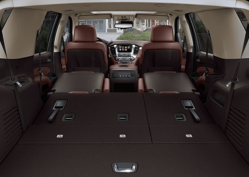 2015 Chevrolet Tahoe seats folded