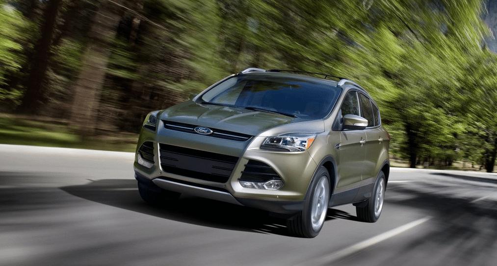 2013 Ford Escape green