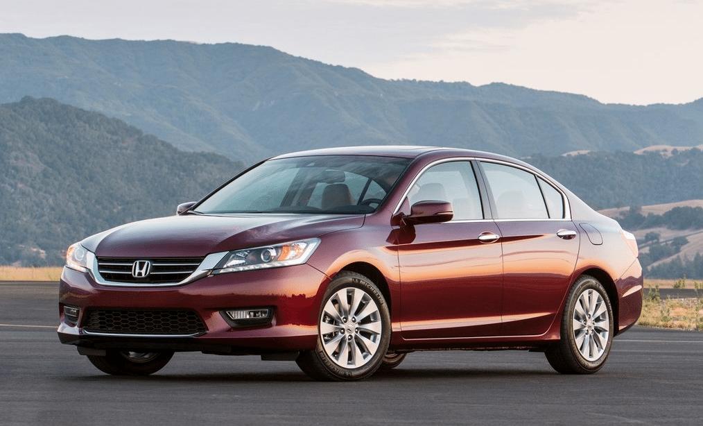2013 Honda Accord red