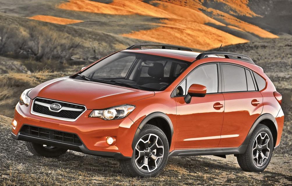 2013 Subaru XV Crosstrek orange