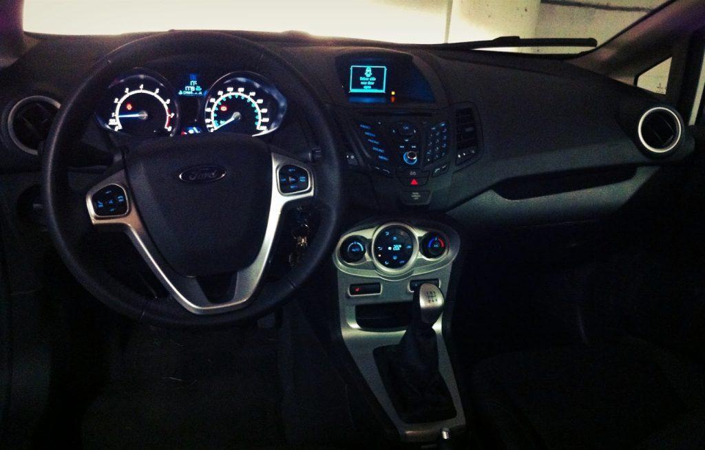 2014 Ford Fiesta EcoBoost interior