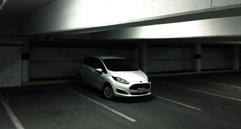 2014 Ford Fiesta SFE EcoBoost white