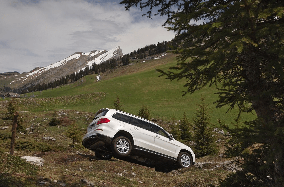 2014 Mercedes-Benz GL offroad