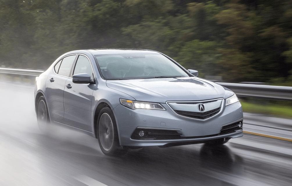 2015 Acura TLX silver