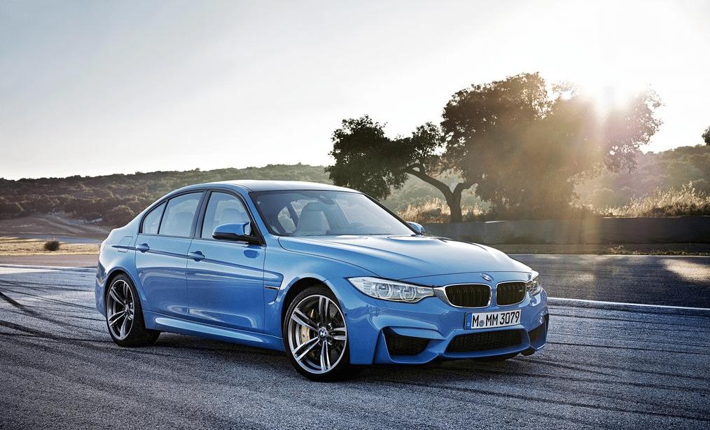 2015 BMW M3 Sedan blue