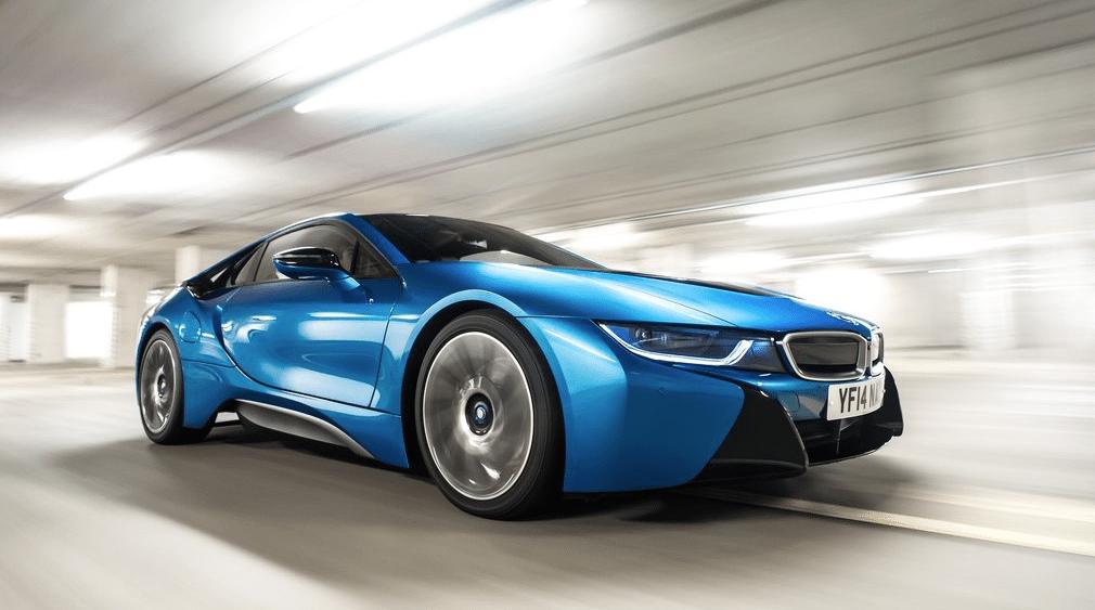 2015 BMW i3 blue