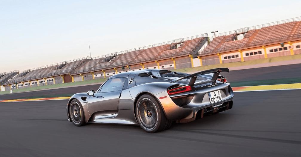 2015 Porsche 918 Spyder grey