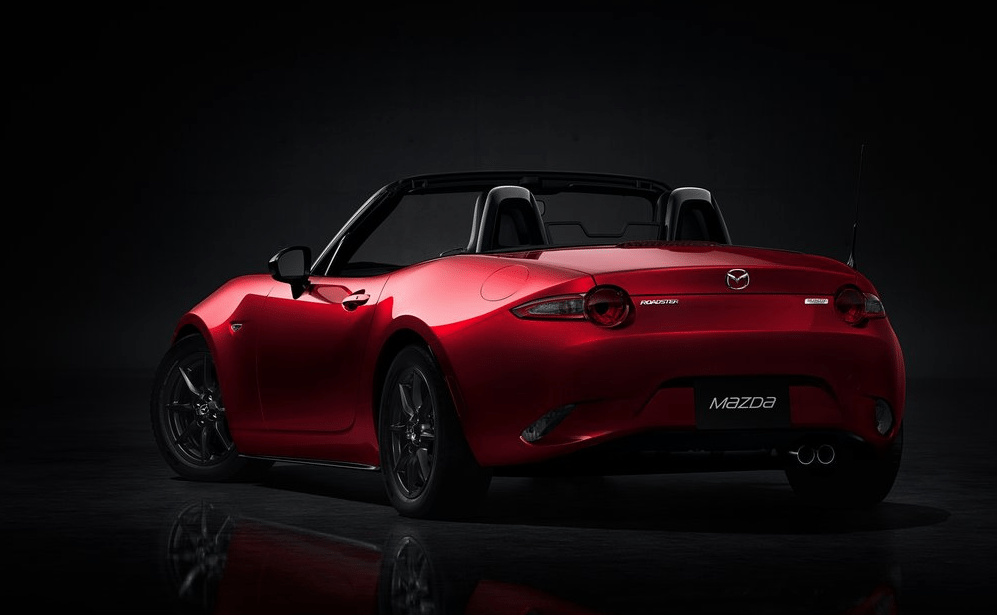 2016 Mazda MX-5 Miata red rear