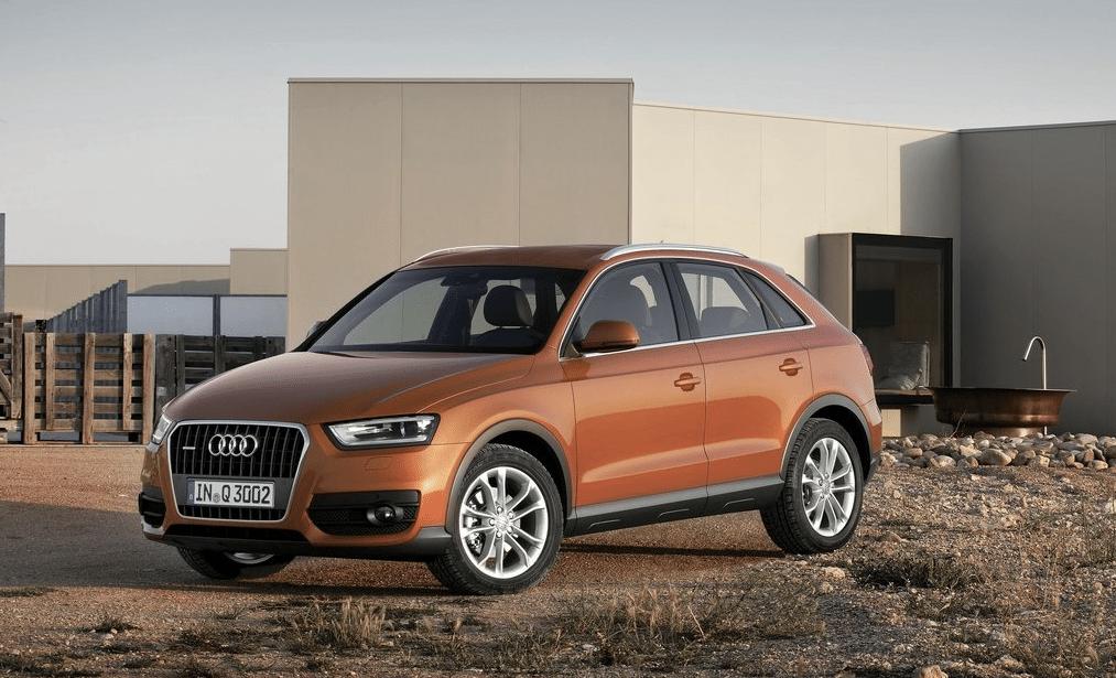 Audi Q3 orange