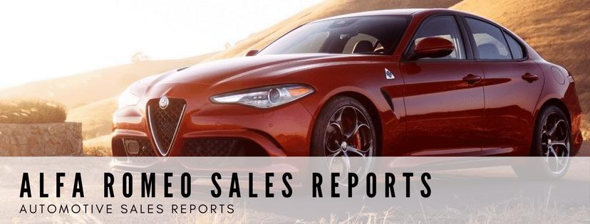 Alfa Romeo Sales Reports