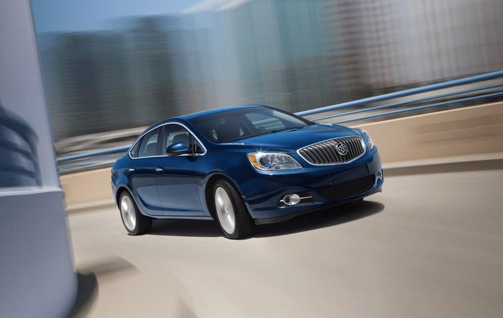 2013 Buick Verano Turbo blue
