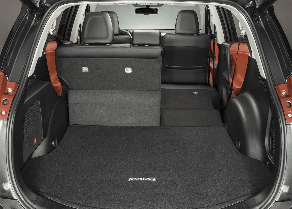 2013 Toyota RAV4 cargo area