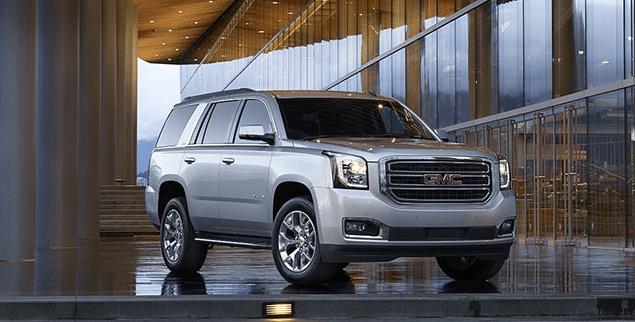 2015 GMC Yukon silver