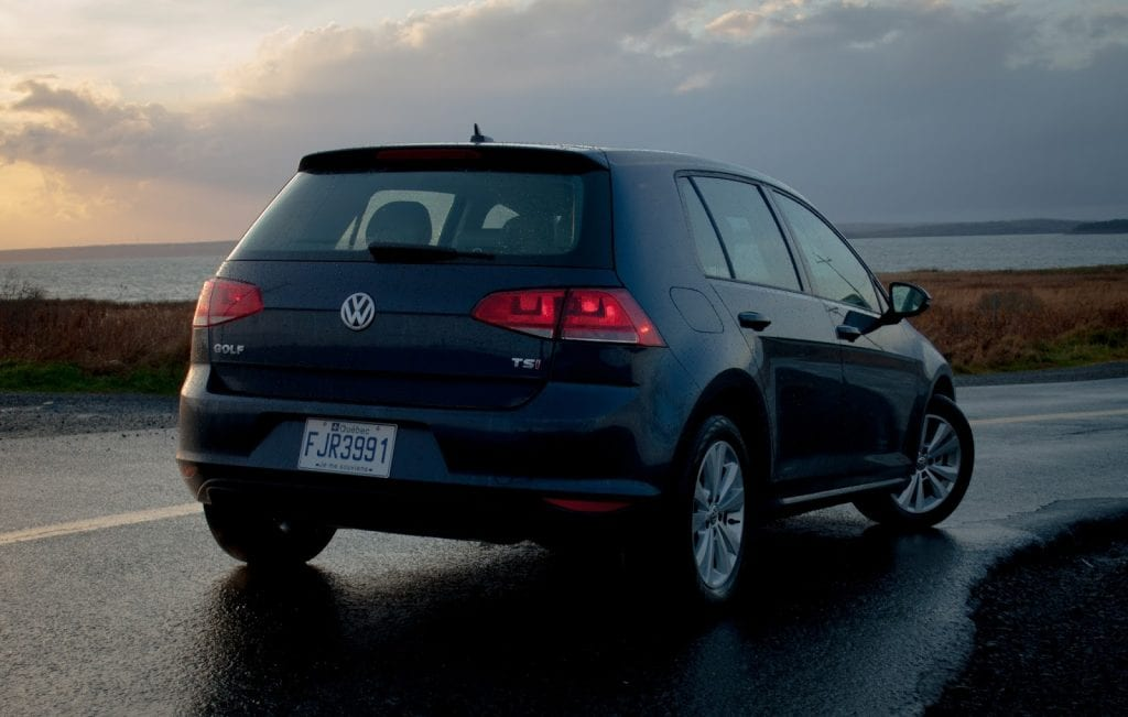 2015 Volkswagen Golf 1.8 TSI rear
