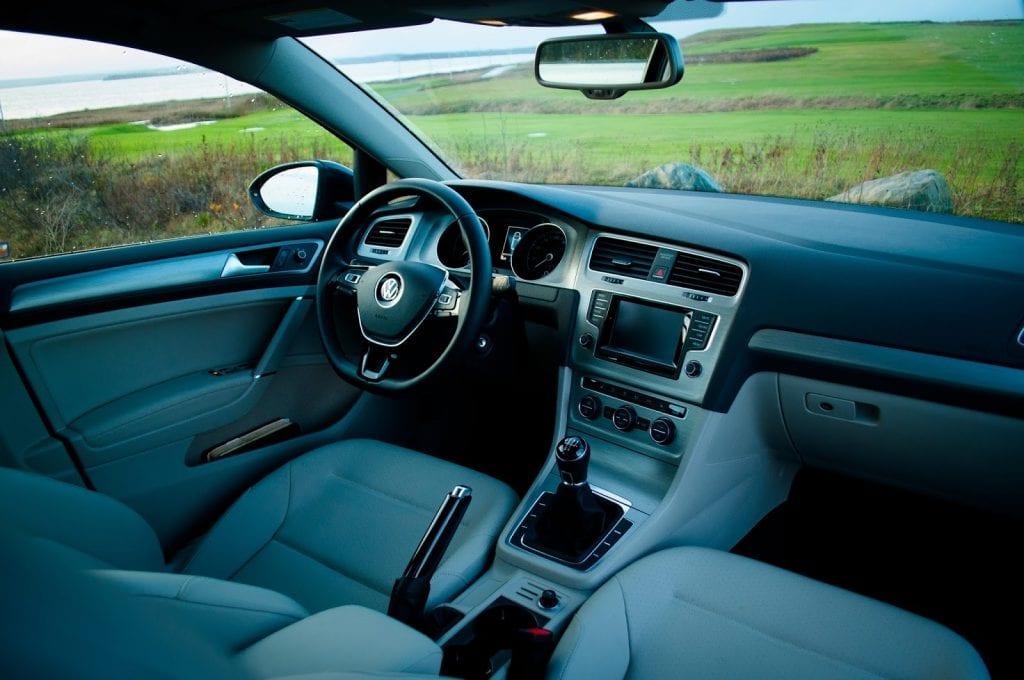 2015 Volkswagen Golf Comfortline interior