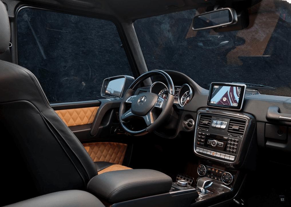 2014 Mercedes-Benz G-Class interior